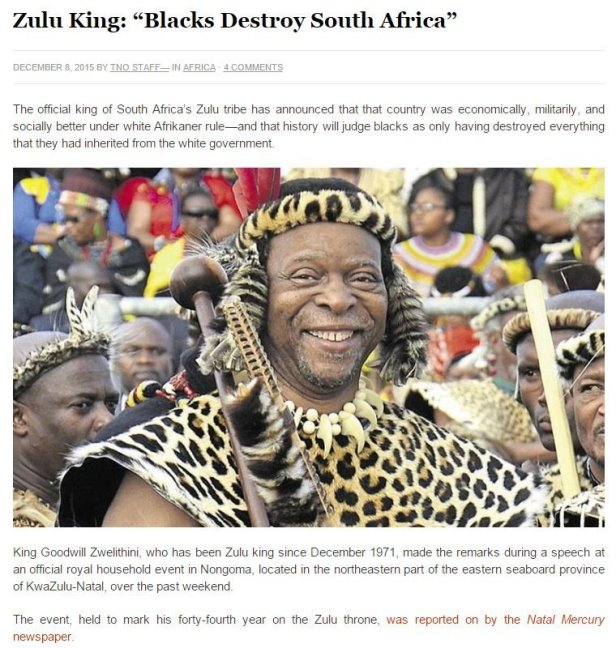 zulu king apartheid